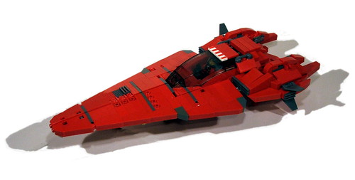 Crimson Guard Starfighter
