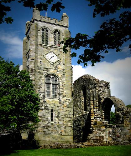 Kilwinning Abbey clock tower
