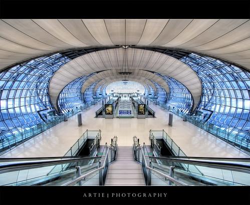 Suvarnabhumi Airport, Bangkok :: HDR