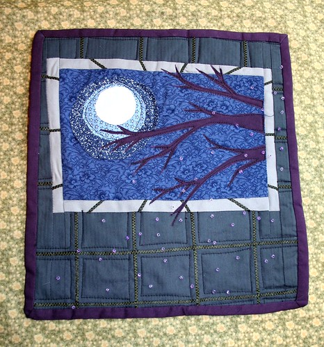 Journal Quilt: Showering with the lights off