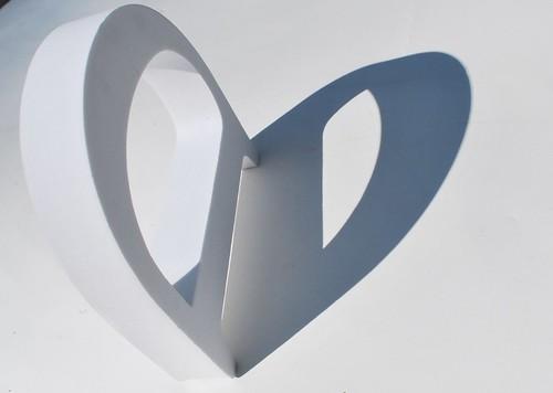 D shadow heart
