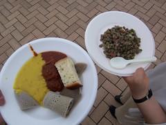 Injera, african food