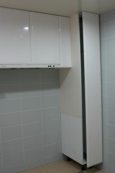 廚具進場-高身櫃