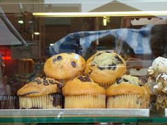 London 2009- Bakery Muffin con Blackcurrant