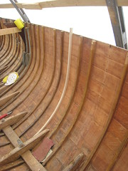 Ensimminen 150cm kaari paikallaan (e-z) Tags: woodenboat sailingboat kisen fin15