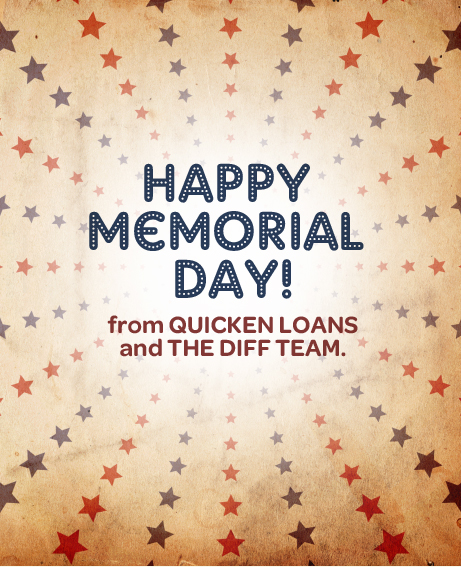 Quicken Loans wishes you a Happy Memorial Day!
