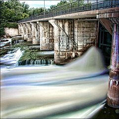 ~ High Flow ~ (ViaMoi) Tags: longexposure travel ontario canada water digital canon photo flickr ottawa tripod can