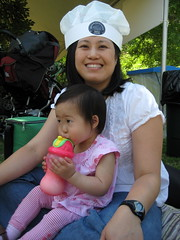 Mama and Aki at Earthfest