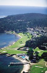 Pebble Beach and 17 Mile Drive (Comfort Inn Monterey CA) Tags: california travel beach hotel bay monterey big lodging central motel pebble biking carmel sur coastline