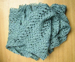Tangling Leaves and Vines scarf