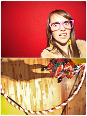 156/365 June 5, 2009 (laurenlemon) Tags: portrait silly me girl fun diptych colorful lemons burningman event 365 fundraiser hulahoop blackrockartsfoundation braf 365days june09 canoneos5dmarkii laurenrandolph laurenlemon renocollective