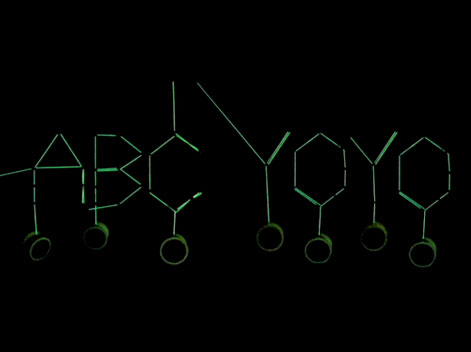 ABC YOYO CINETIC TYPOGRAPHY
