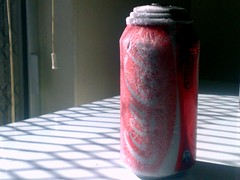 Slurpee in a can! (norbography) Tags: red black cold frozen rotgut coke can cocacola