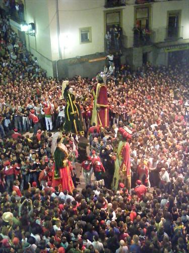 Grandes fiestas en Cataluña