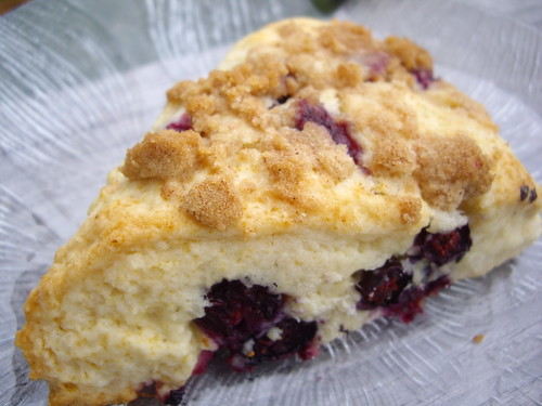 Blueberry Streusel Scone