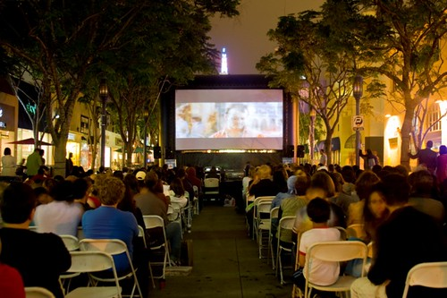 Outdoor Movies at the Los Angeles Film Festival