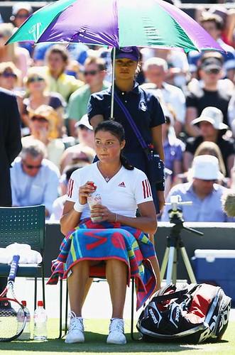 Dinara Safina at Wimbledon 2009