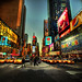 Time Square evening by NikolaT