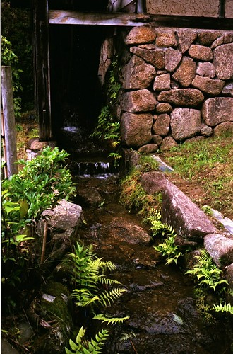 日本民家園 水車