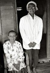 Bapa dan Emak d16-1c (hkoons) Tags: blackandwhite kampungbankaulu bw gemas kampung leica malay malaya malaysia village westmalaysia allbw bangkahulu chinese indian malaysian kompong life