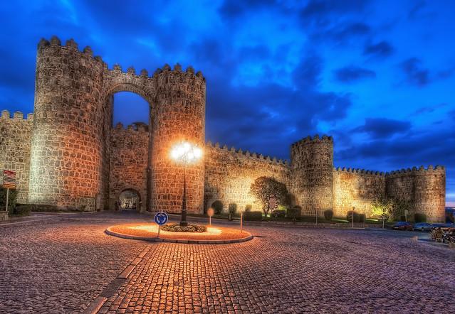 City Walls – Muralla, Ávila (Spain), HDR
