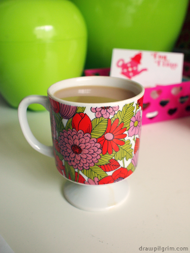 7by7: afternoon tea in my favorite mug
