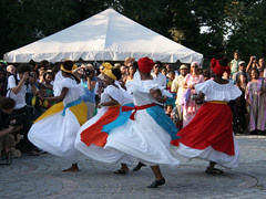 dancers in Congo Square (by: Natalie Burdick, creative commons license)