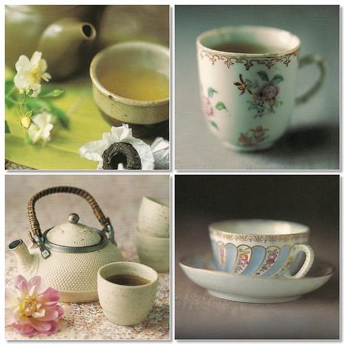 Mosaic tea cups