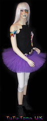 Purple pleated 4 layer tutu (TuTu-Topia) Tags: ballet dance tutu tutuskirt netskirt