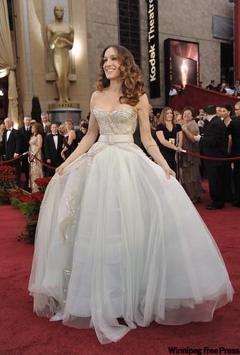 Premios Oscar Sarah Jessica Parker vestido princesa