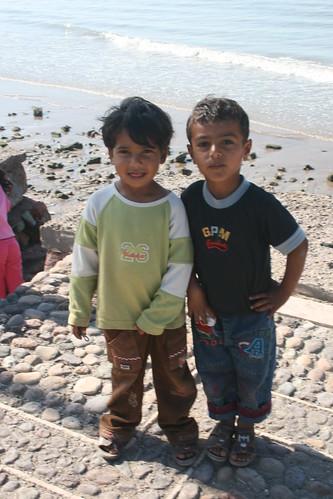 Bandari boys, Hormoz Island, Persian Gulf, Iran
