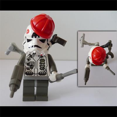 Clone Technician custom minifig