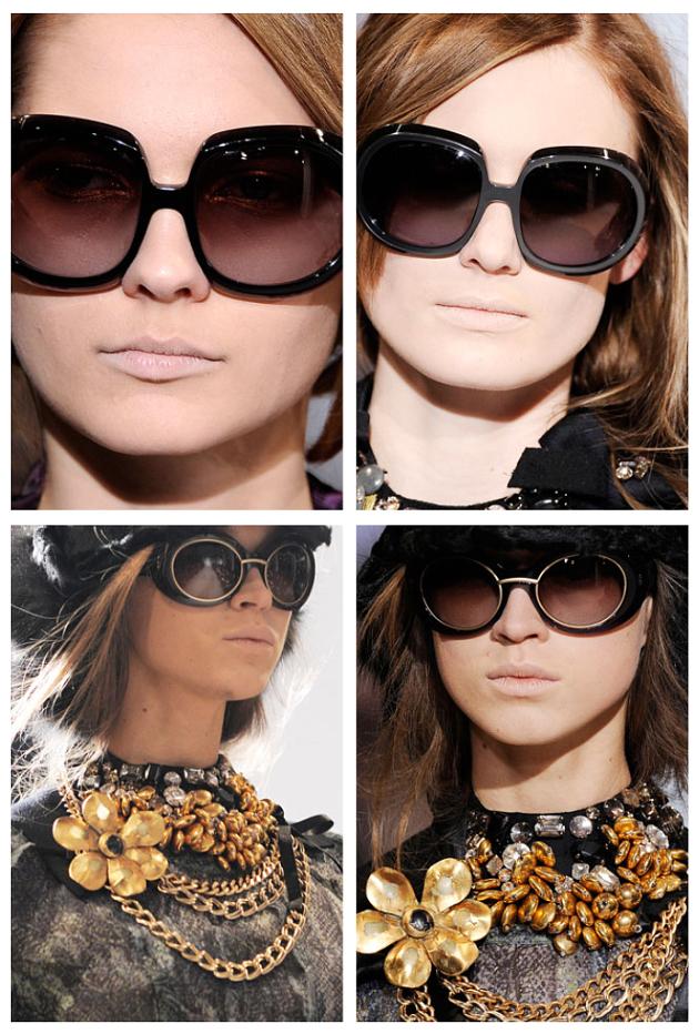 Büyük güneş gözlüğü modelleri