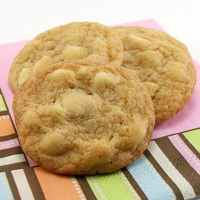 White Chocolate Lime Cookies