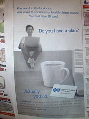 BCBSDE advertisement