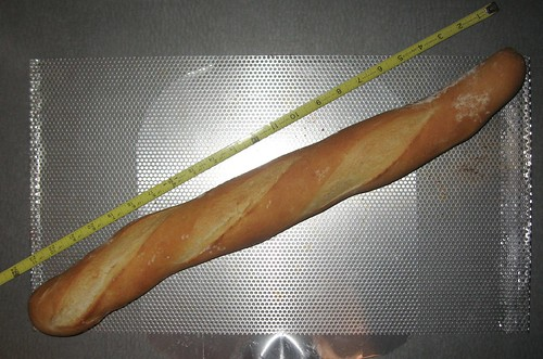 baguette from perforated sheet