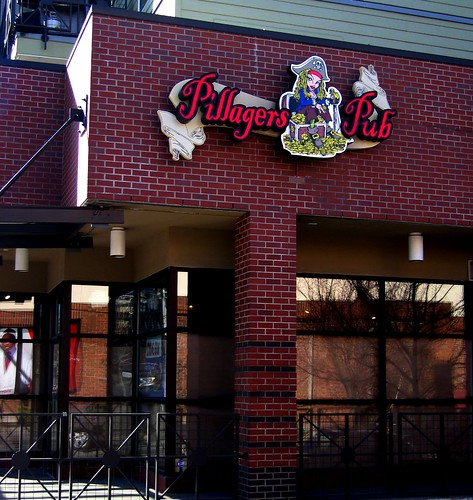 Pillagers Pub - At the corner of Greenwood and 87th.