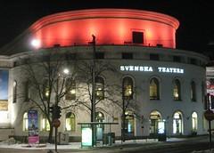 The Swedish Theatre, Helsinki (Anna Amnell) Tags: suomi finland helsinki helsingfors erottaja mannerheimintie mannerheimvgen svenskateatern skillnaden