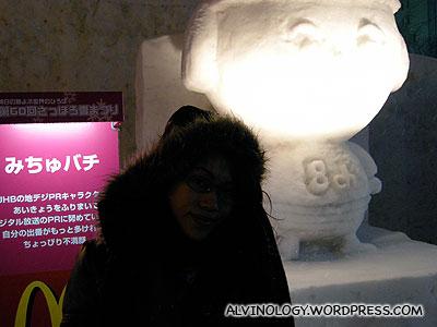 Mcdonalds mascot in Japan