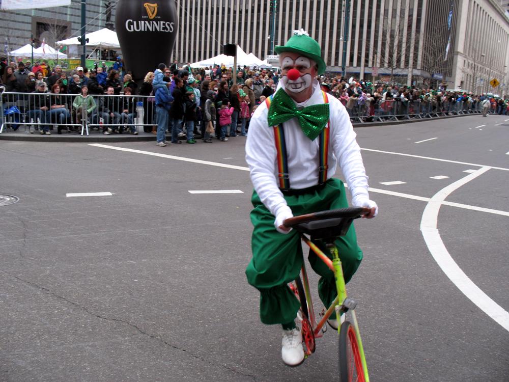 St Patricks day parade 2009