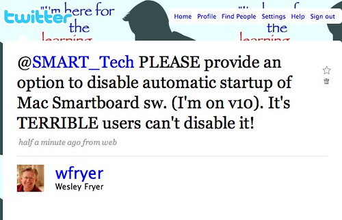 Twitter _ Wesley Fryer: @SMART_Tech PLEASE provide ...