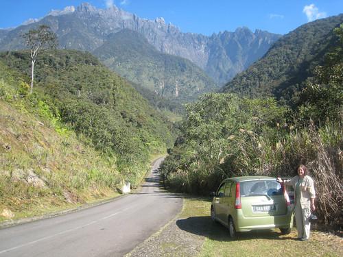 Mesilau road to Mt. Kinabalu