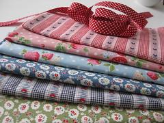 Errungenschaften (ellis & higgs) Tags: berlin ribbons lace cotton frau trim fabrics tulpe baumwolle bänder nähzubehör bohrten