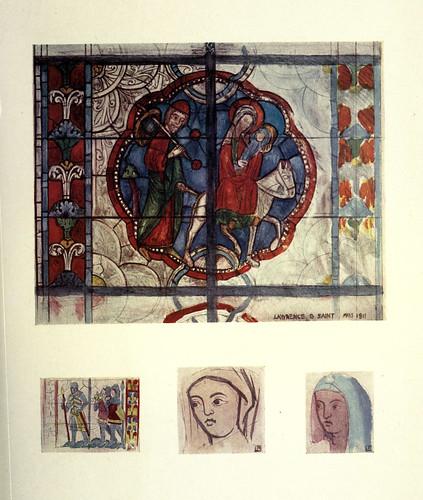 007- La huida a Egipto- Catedral de Poitiers finales del siglo XIII