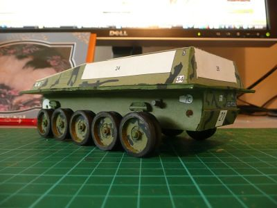 Modelik FV101 Scorpion Paper Kit