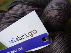 Malabrigo Lace - Black Forest