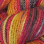 *15 % Sale* Consuming Fire on Spirit Merino - 4 oz (...a time to dye)