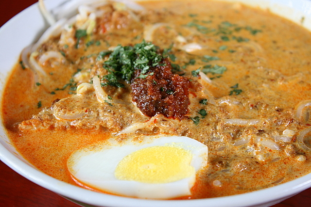 The Laksa is not bad!