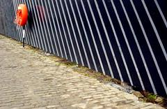 rescue me (sezdavies) Tags: life rescue orange building site edinburgh lifebelt stripey lollipop cobbles preserver unioncanal canalside