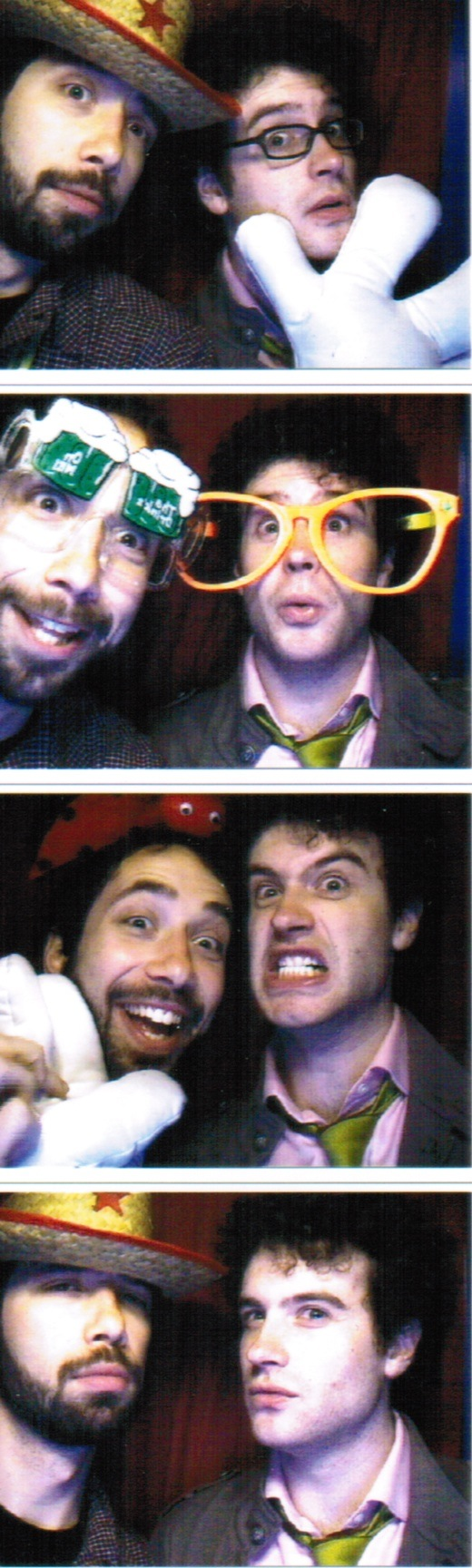 Andrew and Ben at SXSW 2009